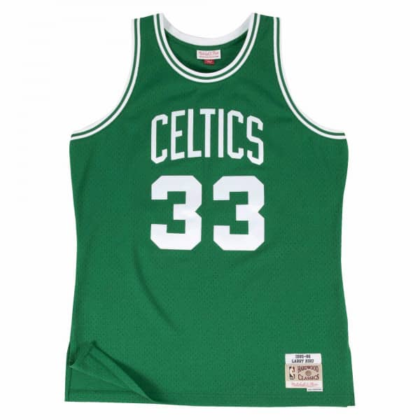 Larry Bird #33 Boston Celtics 1985-86 Swingman NBA Trikot Grün
