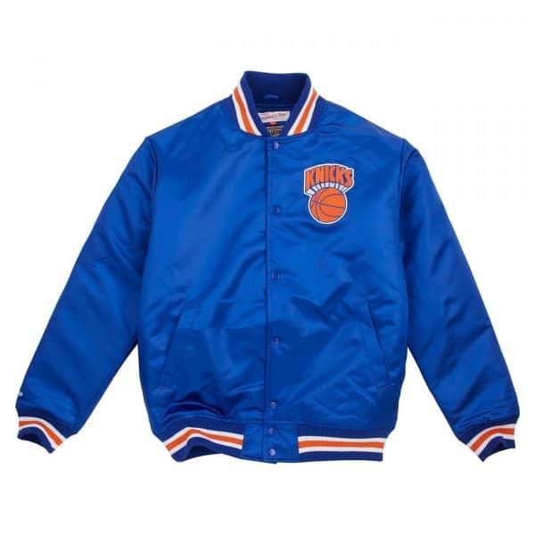 New York Knicks Wordmark Satin NBA Jacke