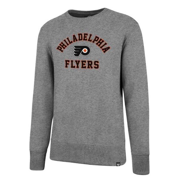 Philadelphia Flyers Varsity Arch Crewneck NHL Sweatshirt