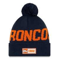 Denver Broncos Reverse 2019 NFL Sideline Sport Knit Wintermütze Road