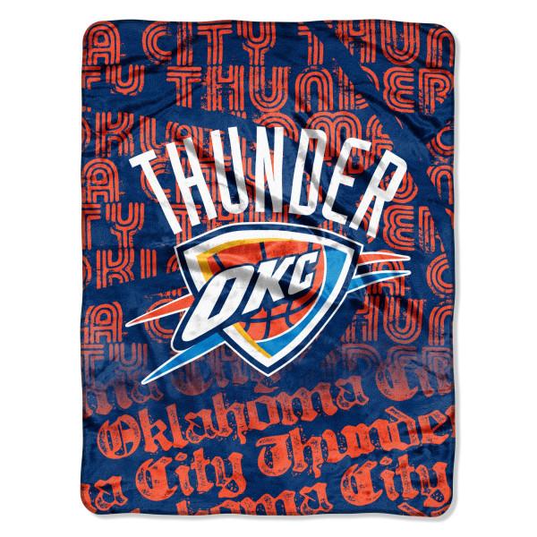 Oklahoma City Thunder Super Plush NBA Decke