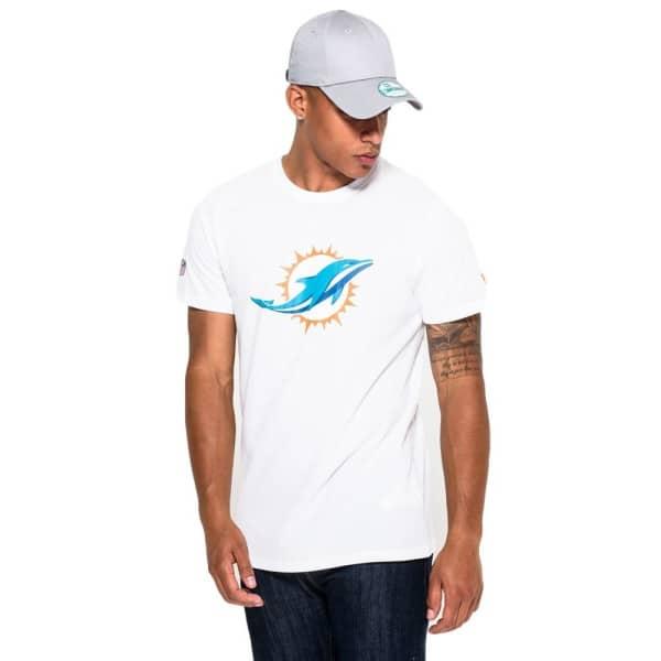 Miami Dolphins Team Logo Football NFL T-Shirt