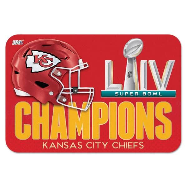Kansas City Chiefs Super Bowl LIV Champions NFL Fußmatte