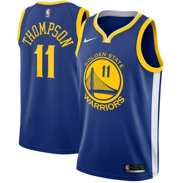 Klay Thompson #11 Golden State Warriors Icon Swingman NBA Trikot
