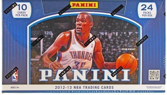 2012/13 Panini Basketball Hobby Box NBA
