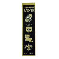 New Orleans Saints NFL Premium Heritage Banner