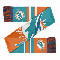 Miami Dolphins Colorblock Big Logo NFL Schal