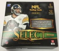 2016 Panini Select Football Hobby Box NFL