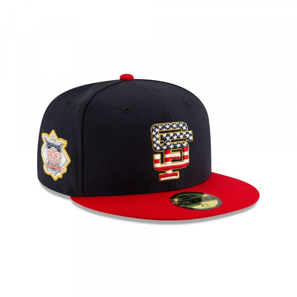 San Francisco Giants 4th of July 2019 59FIFTY Fitted MLB Cap