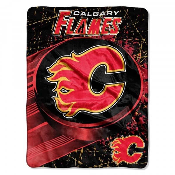 Calgary Flames Micro Raschel NHL Decke
