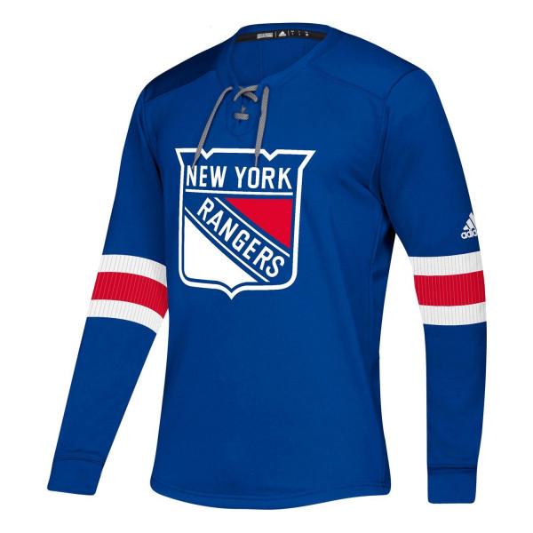 New York Rangers NHL Platinum Long Sleeve Trikot
