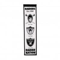 Las Vegas Raiders NFL Premium Heritage Banner