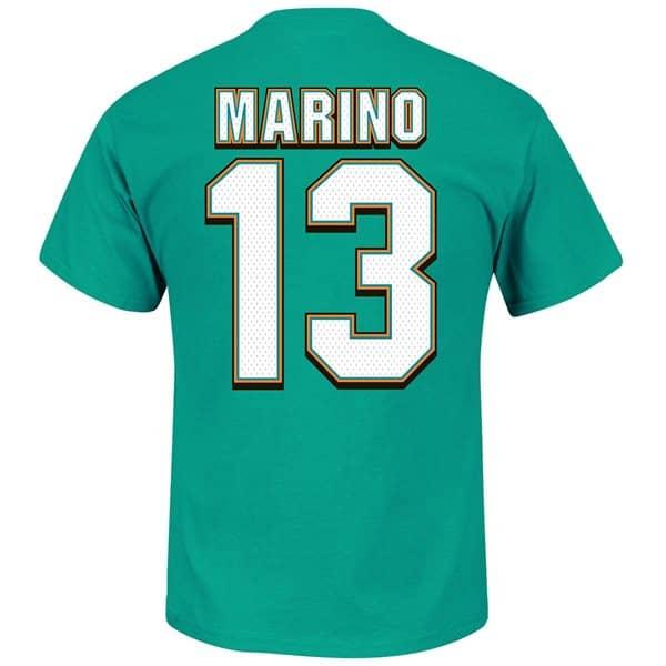 Dan Marino #13 Miami Dolphins Hall of Fame NFL T-Shirt