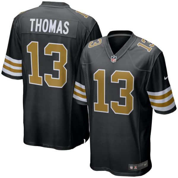 Michael Thomas #13 New Orleans Saints Nike Game NFL Football Trikot Alternate