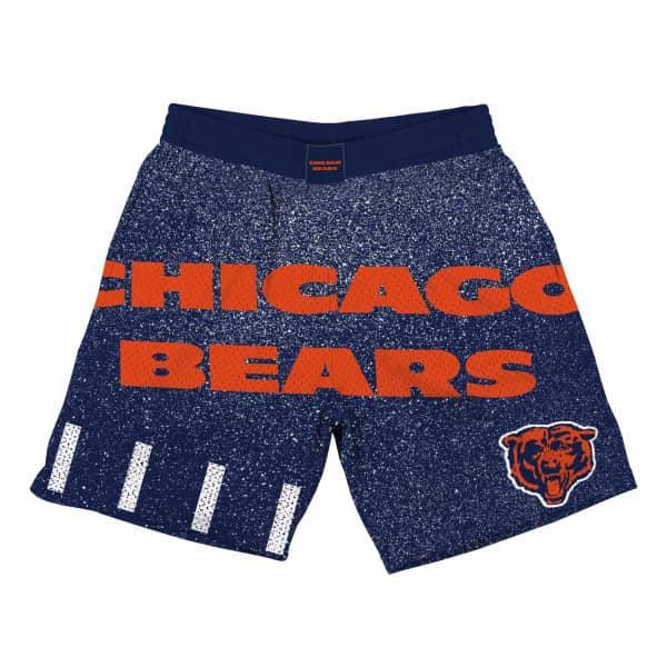 Chicago Bears Jumbotron Throwback Mitchell & Ness NFL Shorts Navy