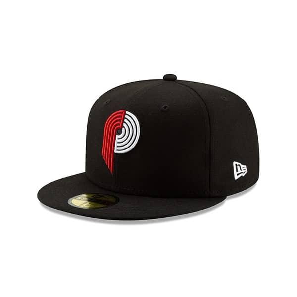 on sale 27383 cdc60 New Era Portland Trail Blazers 2019 NBA Back Half 59FIFTY Fitted Cap    TAASS.com Fan Shop