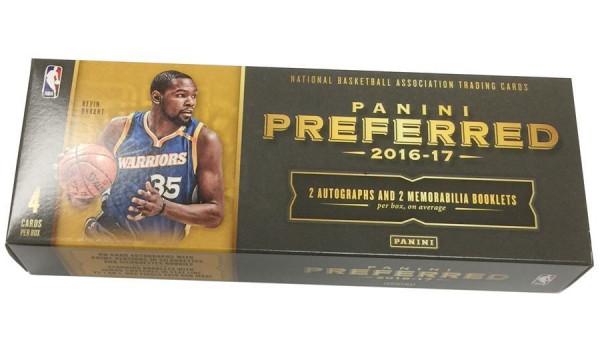 2016/17 Panini Preferred Basketball Hobby Box NBA