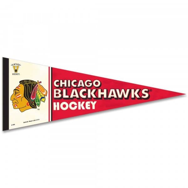 Chicago Blackhawks Vintage Premium NHL Wimpel