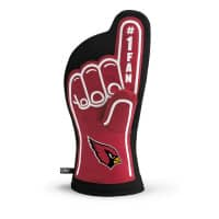 Arizona Cardinals #1 Fan NFL Ofenhandschuh