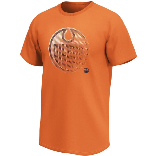 Edmonton Oilers 2020 Doorbusters Fade Fanatics Core NHL T-Shirt