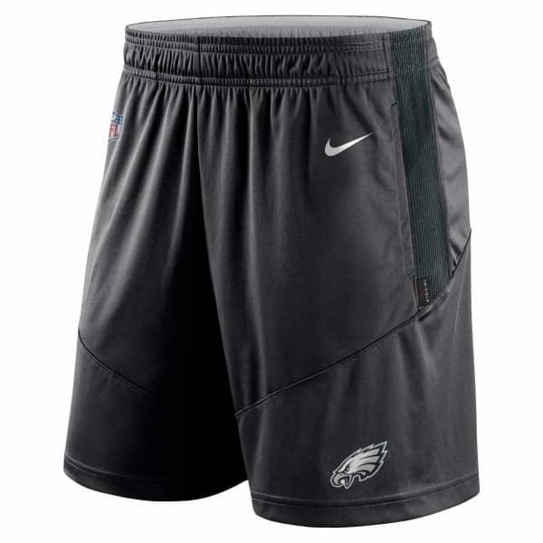 Philadelphia Eagles 2021 NFL On-Field Sideline Nike Shorts Schwarz