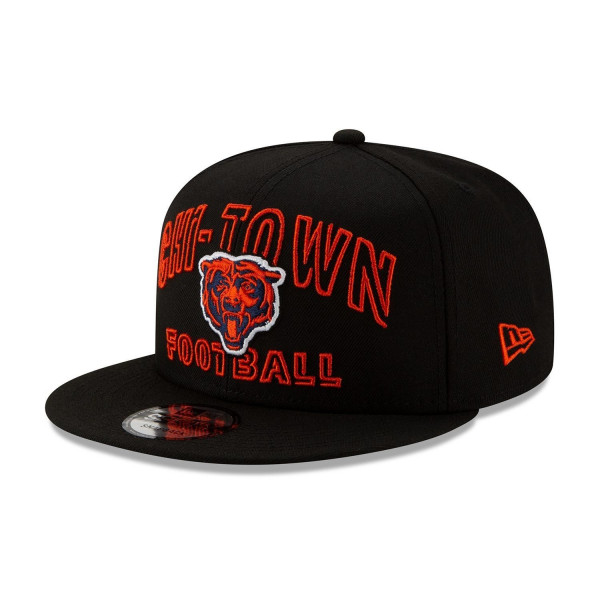 Chicago Bears 2020 NFL Draft New Era 9FIFTY Snapback Cap Alternate