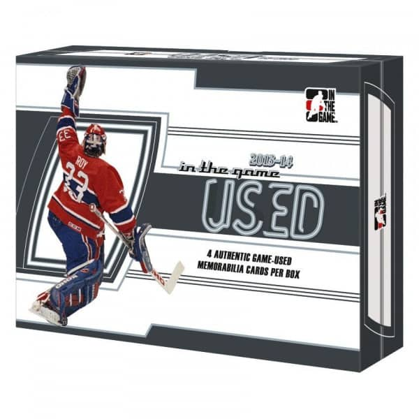 2013/14 In The Game Used Hockey Hobby Box