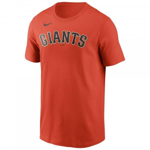 San Francisco Giants Wordmark Nike MLB T-Shirt Orange