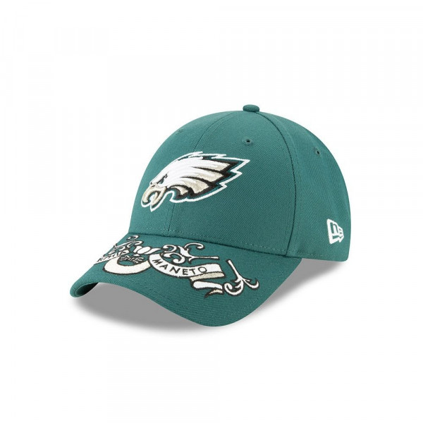 Philadelphia Eagles 2019 NFL Draft On-Stage 9FORTY Adjustable Cap