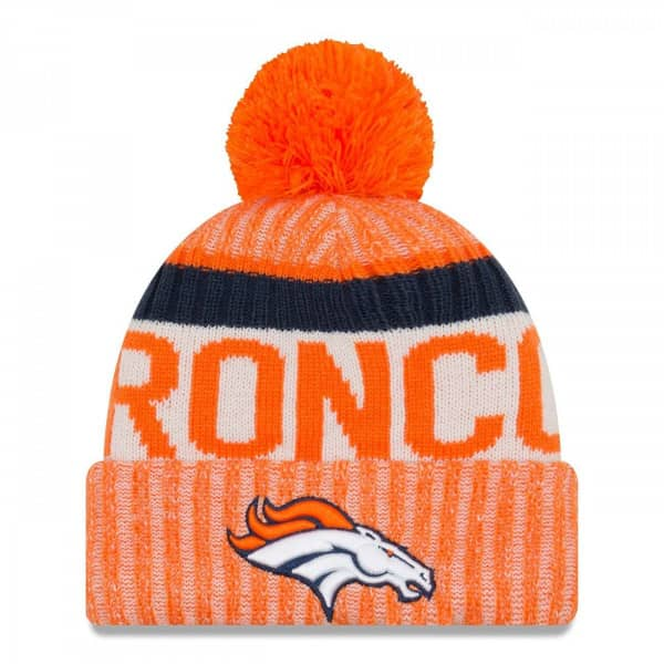 New Era Denver Broncos 2017 On-Field NFL Wintermütze
