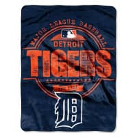 Detroit Tigers Est. 1901 Super Plush MLB Decke