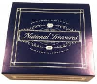 2018 Panini National Treasures Soccer (Fußball) Hobby Box