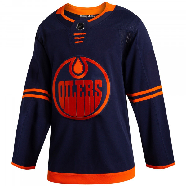 Edmonton Oilers adidas Authentic Pro NHL Trikot Alternate Navy
