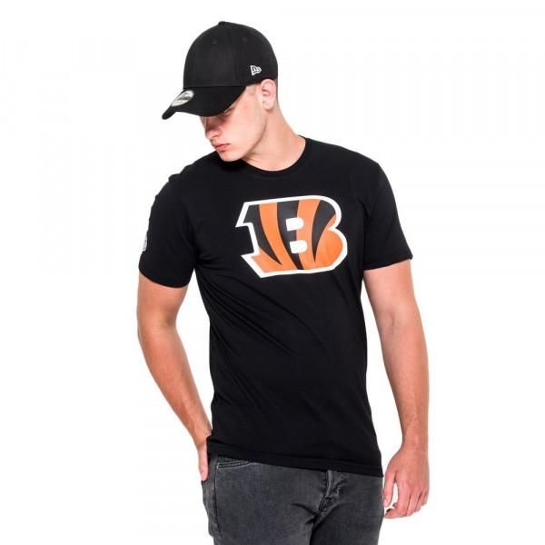 huge discount b76d5 a2231 Cincinnati Bengals Team Logo Football NFL T-Shirt Black
