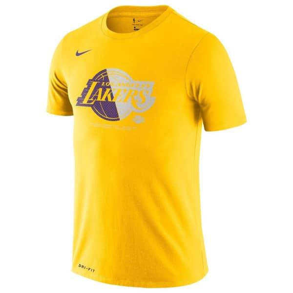 Los Angeles Lakers Bold Logo Dri-FIT NBA T-Shirt