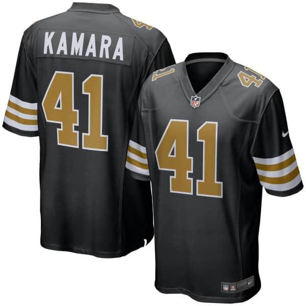 Alvin Kamara #41 New Orleans Saints Nike Game NFL Football Trikot Alternate
