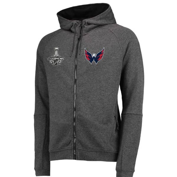 promo code ffadc 67e3b Washington Capitals 2018 Stanley Cup Champions Full Zip Hooded NHL  Sweatshirt