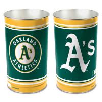 Oakland Athletics MLB Metall Papierkorb