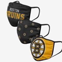 Boston Bruins NHL Face Mask Mundschutz MNS (3er-Pack)