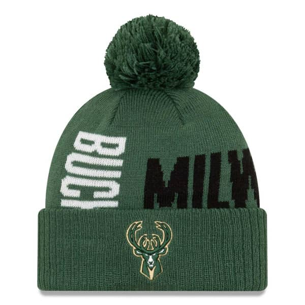 Milwaukee Bucks 2019-20 NBA Tip Off Series NBA Wintermütze