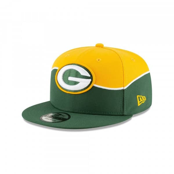 fbf2997ee247d New Era Green Bay Packers 2019 NFL Draft 9FIFTY Snapback Cap On-Stage