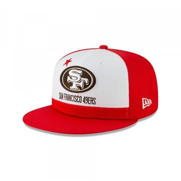 half off 8dc11 7a478 New Era San Francisco 49ers 2019 NFL Draft 59FIFTY Fitted Cap Spotlight    TAASS.com Fan Shop