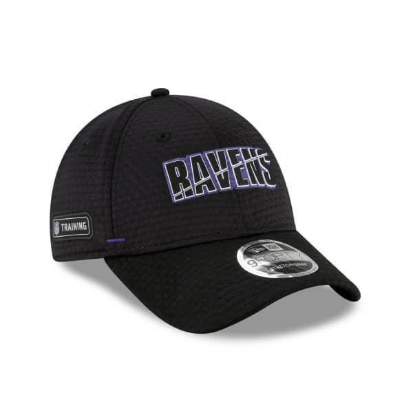Baltimore Ravens 2020 Summer Sideline New Era Stretch-Snap 9FORTY NFL Cap