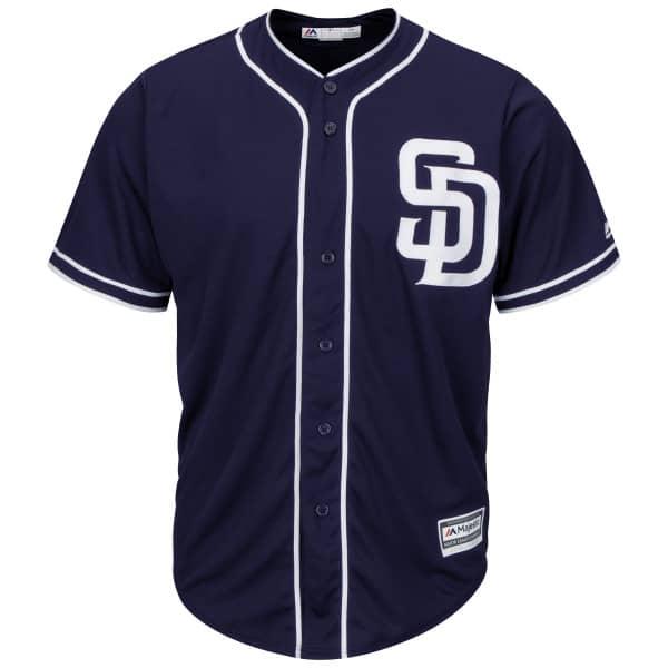 San Diego Padres Cool Base MLB Trikot Alternate Navy