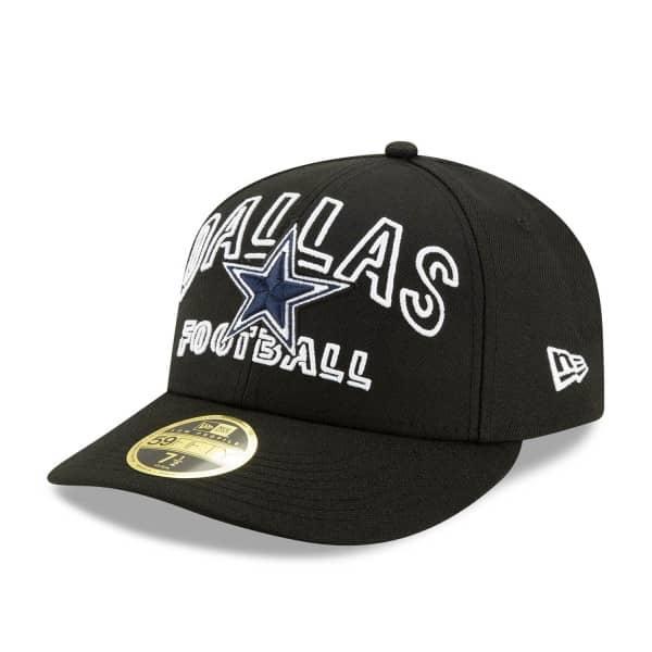 Dallas Cowboys 2020 NFL Draft New Era Low Profile 59FIFTY Cap Alternate
