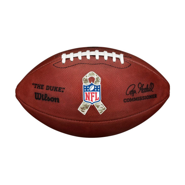 """NFL Authentic Game Ball """"The Duke"""" Salute to Service (Offizieller NFL Spielball)"""