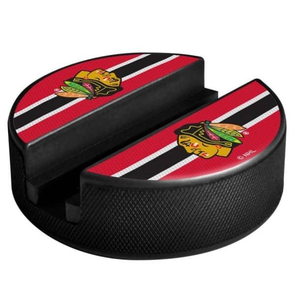 Chicago Blackhawks NHL Puck Media Device Holder