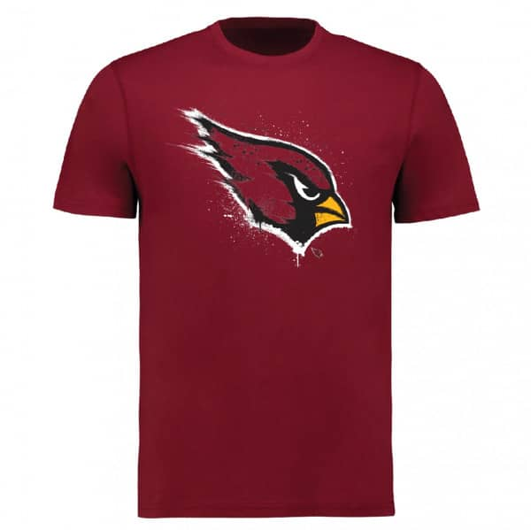 Arizona Cardinals Splatter NFL T-Shirt