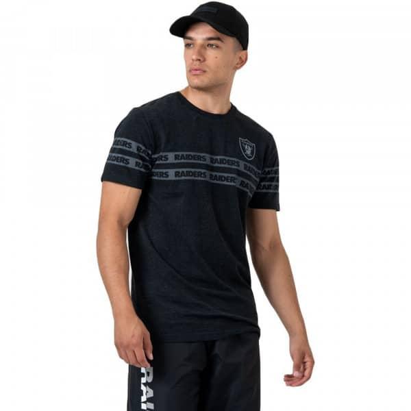 Oakland Raiders Tape Effect NFL T-Shirt