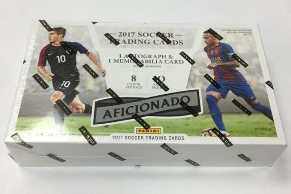 2016/17 Panini Aficionado Soccer (Fußball) Hobby Box